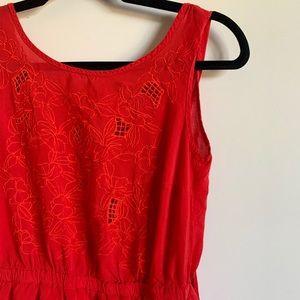 F21 Red Summer Dress